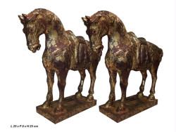 chevaux en bois