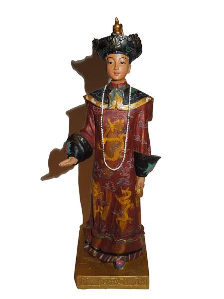 Princesse chinoise, portant une robe de cérémonie