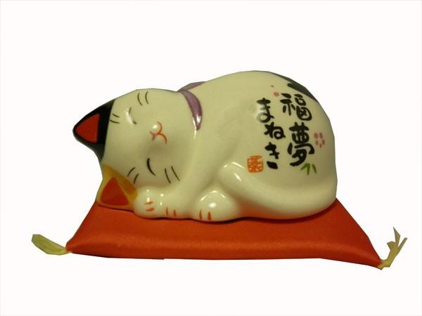 Chat-maneki-neko-sieste