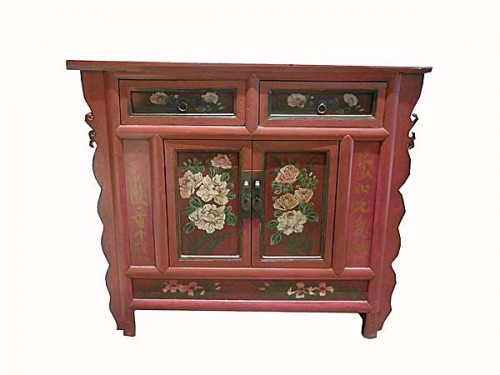 Meuble cabinet chinois