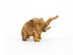 éléphant en os, netsuké, collection