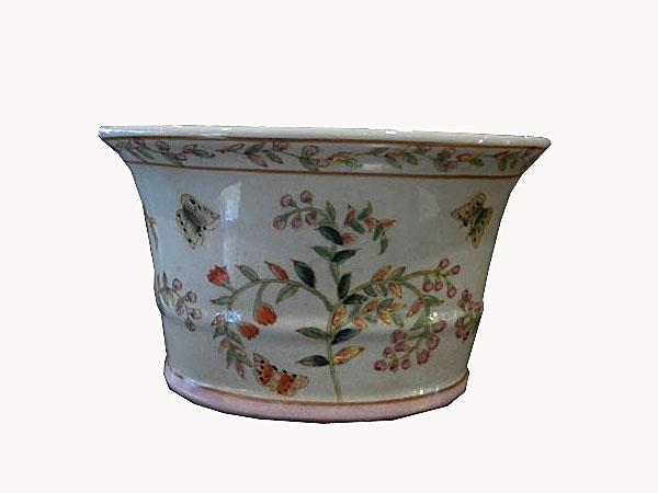 cache pot, pot pour plantes et feurs en porcelaine