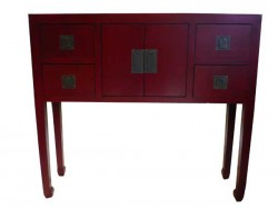 meubles chinois rouge aux merveilles d 39 asie. Black Bedroom Furniture Sets. Home Design Ideas