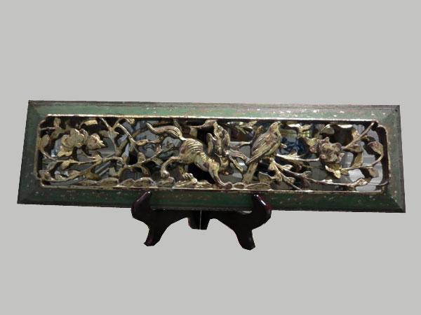 panneau ancien en bois scul aux merveilles d 39 asie. Black Bedroom Furniture Sets. Home Design Ideas