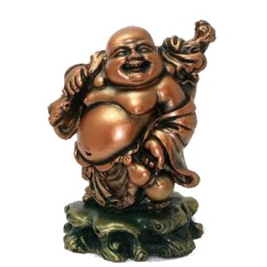 Bouddha voyageur, bouddha rieur.
