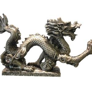 dragon, résine, représente la force et la puissance