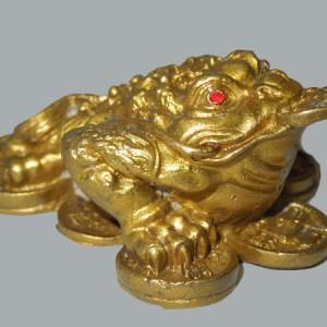 Crapaud de le richesse, grenouille à trois pattes