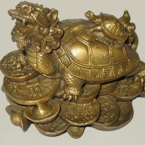 Tortue dragon, tortue de la richesse et de la réussite