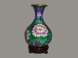 Vase , jarre, pot en cloisonné