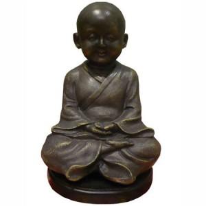 bonze, méditation, zen, feng shui