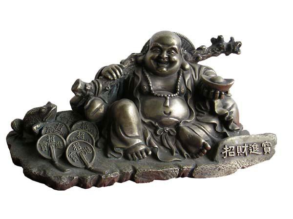 bouddha chance, richesse, prospérité, maitraya, bouddha du futur, feng shui