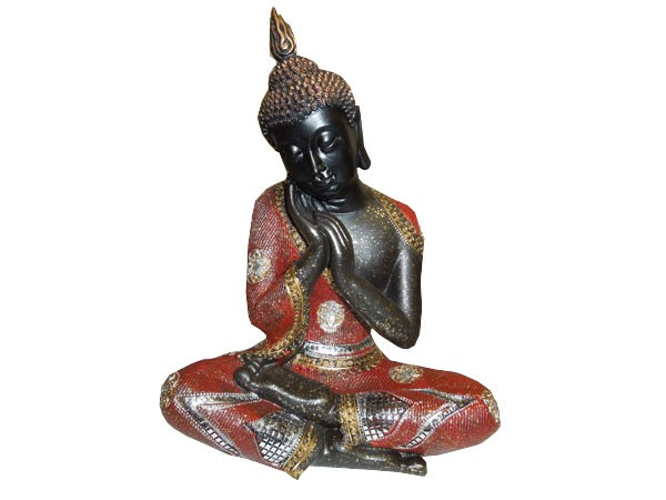 Bouddha-zen-rouge