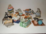 Miniature en porcelaine