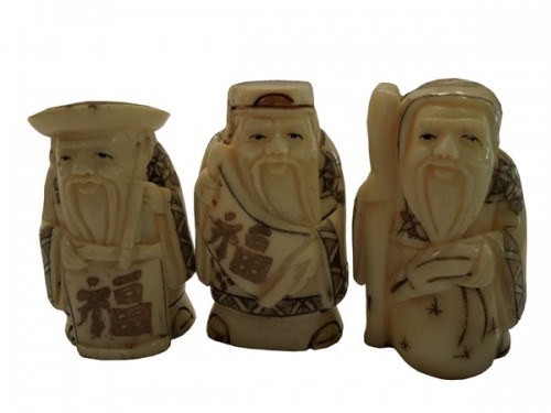 Les trois sages en os.