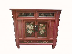 Cabinet meuble chinois en orme
