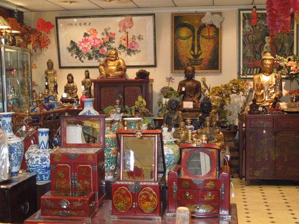 Photo boutique chinois, avec des coffre à bijoux