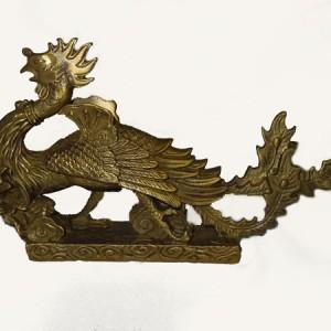 phoenix, oiseau de feu, phenix en cuivre