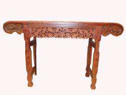 table, console, bois